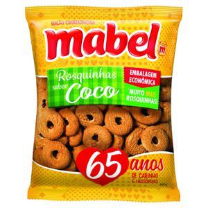 Biscoito Rosquinha Coco Mabel Pacote 800g Embalagem Econômica