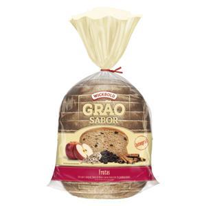 Pão de Forma Especial WICKBOLD Grãos Frutas 500g