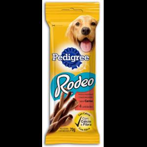 Petisco Pedigree 70g Rodeo Carne