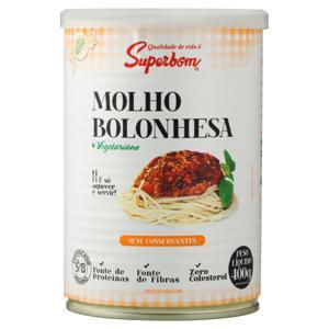 Molho de Tomate Bolonhesa Superbom Lata 400g
