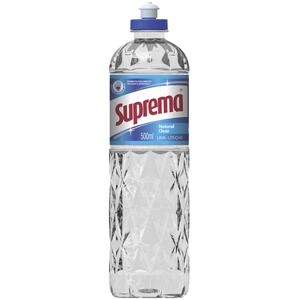 Detergente suprema clear 500 ml