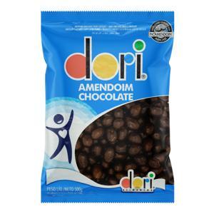Amendoim Confeitado Chocolate Dori Pacote 500g