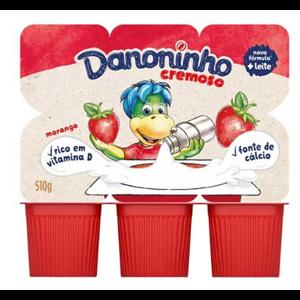 Iogurte Danoninho 510g Morango