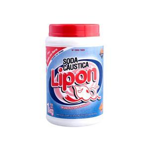 Soda Caústica LIPON 1Kg