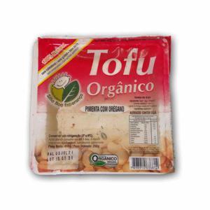 Tofu com pimenta e orégano (250g)