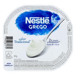 Iogurte Grego Tradicional Nestlé Pote 90g