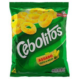 Salgadinho de Milho Cebola Elma Chips Cebolitos Pacote 110g
