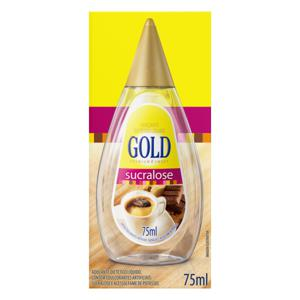 Adoçante Líquido Sucralose Gold Premium Sweet Caixa 75ml