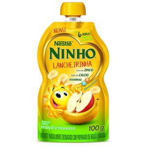 Iogurte Pouch NINHO Lancheirinha Maçã/Banana 100g