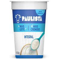 Iogurte Paulista Natural 150g