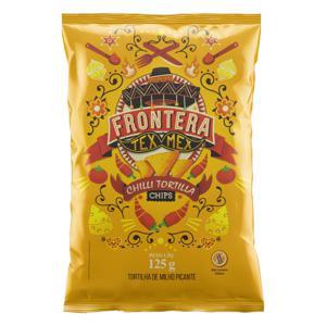 Tortilha Chips de Milho Picante Frontera Tex Mex Pacote 125g