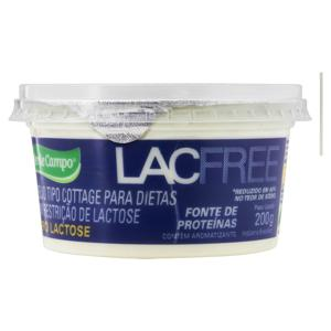Queijo Cottage Zero Lactose Verde Campo Lacfree Pote 200g