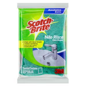 Esponja Não Risca Banheiro Scotch-Brite