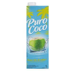 Água de Coco Esterilizada Puro Coco Caixa 1l