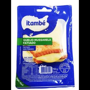Queijo Mussarela  Itambe Fatiado 150G