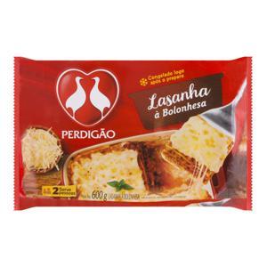 Lasanha Bolonhesa Perdigão Pacote 600g