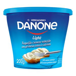 Requeijão Cremoso Light Danone Copo 200g