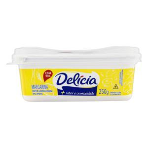 Margarina com Sal Delícia + Sabor e Cremosidade Pote 250g