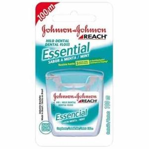 Fio Dental JOHNSON & JOHNSON Essential Menta 100m