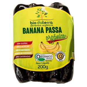 Banana passa ( 200g) Orgânica