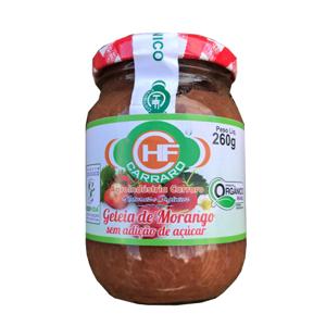 Geleia de MORANGO Orgânico S/Açúcar (260g)