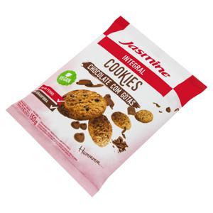 Biscoito Cookie Integral Cacau e Gotas de Chocolate Jasmine 150g