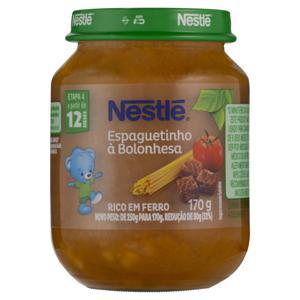Sopinha Espaguetinho à Bolonhesa Nestlé Vidro 170g