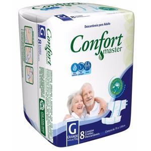 Fralda Geriátrica Confort Master 08X01 Regular G