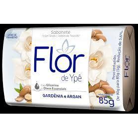 Sabonete Flor De Ype Suave 85G Gardenia E Argan