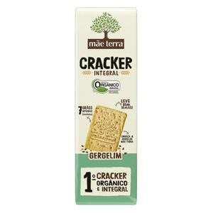 Cracker integral orgânico de gergelim Mãe Terra -130g