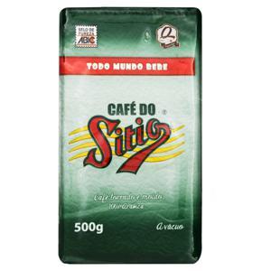 Café Torrado e Moído Superior a Vácuo Café do Sítio Pacote 500g