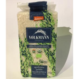 Arroz Agulinha polido 1kg - Volkmann