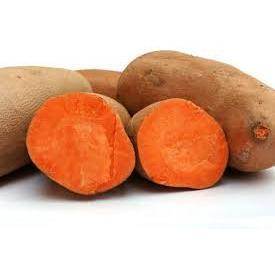 Batata doce laranja 500g orgânica
