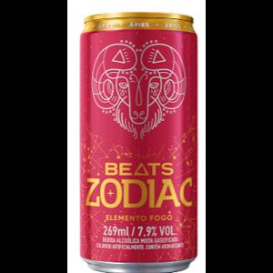 Cerveja Skol 269ml Beats Zodiac Elemento Fogo