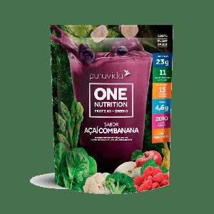 Proteína Vegana Açaí com Banana 450g - Puravida