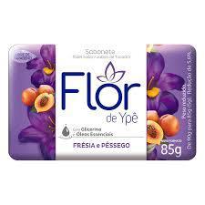 Sabonete Flor Ype Suave 85G Fresia/Pessego