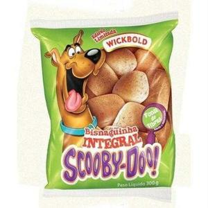 Bisnaguinha WICKBOLD Integral Scooby-doo 300g