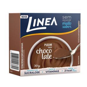 Po Para Pudim Linea Sucralose Zero Açucar 25G Chocolate