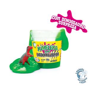 Kimeleka Slime Art Kids 180G Dinossauro