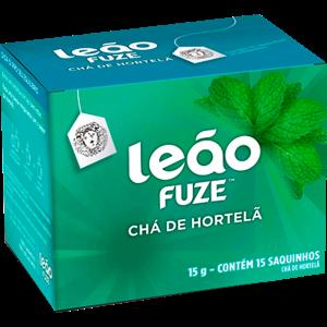 Chá Hortelã Leão Fuze 15g 15 Envelopes
