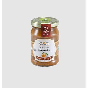 Geleia Orgânica de Tangerina com Calda de Agave 200g - Novo Citrus