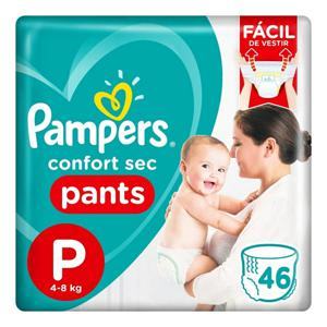 Fralda Descartável Pampers Pants Ajuste Total Tam P pacote c/26 unidades