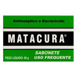 Sabonete Uso Veterinário Antisséptico e Bactericida Matacura Caixa 90g