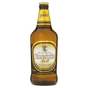Cerveja Lager Premium Puro Malte Therezópolis Gold Garrafa 600ml