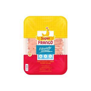 Filezinho Sassami de Frango Congelado SUPERFRANGO 1kg