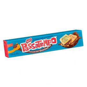 Biscoito PASSATEMPO Rechado de Chocolate 130g