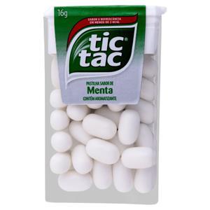 Pastilha Menta Tic Tac Caixa 16g