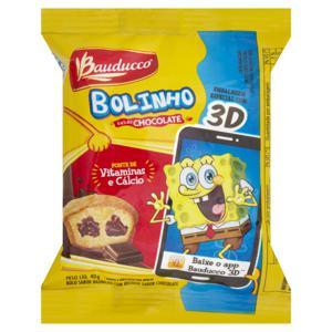 Bolinho Baunilha Recheio Chocolate Bauducco 40g