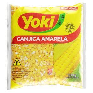 Canjica de Milho Amarela Tipo 1 Yoki Pacote 500g