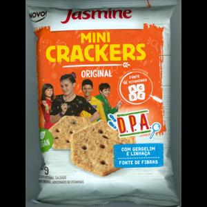 Biscoito Jasmine 80g Mini Crackers Original